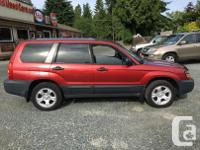 Make Subaru Model Forester Year 2004 Colour Red kms
