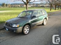 Make Subaru Model Forester Year 2004 Colour Green kms