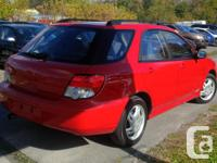 Make Subaru Model Impreza Year 2004 Colour RED kms