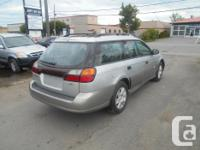 Make Subaru Model Outback Year 2004 Colour Silver kms