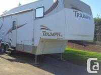 2004 Fleetwood Triumph 305JDSO Fifthwheel travel