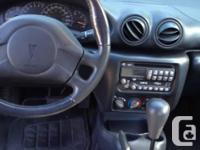 Make Pontiac Model Sunfire Year 2004 Colour Black kms
