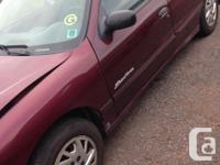 Make Pontiac Model Sunfire Year 2004 Colour Burgundy