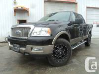 2004 F150 SUPER STAFF. 4X4. FULLY PACKED LARIAT. GOOD