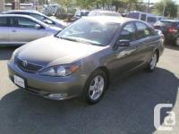 Make Toyota Model Camry Year 2004 Colour Grey kms