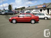 Make Toyota Model Corolla Year 2004 Colour Red kms