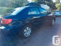 Make Toyota Model Corolla Year 2004 Colour Blue kms