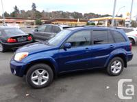 2004 toyota rav4 4wd, 4 cyl, auto, loaded, including