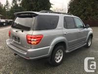 Make Toyota Model Sequoia Year 2004 Colour Grey kms