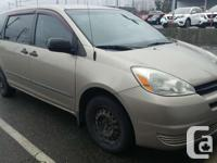 Make Toyota Model Sienna Year 2004 Colour beige kms