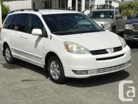 2004 Toyota Sienna LE - 7 Passenger $10,900 Condition: