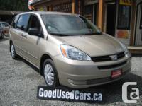 Make Toyota Model Sienna Year 2004 Colour Brown kms