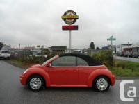 2004 Volkswagen New Beetle GLS Convertible, 91,087km,