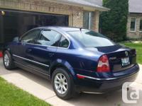 Make Volkswagen Model Passat Year 2004 Colour Blue