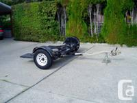 2004 West Texas Car Tow Dolly New Tie down straps,