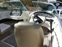 2005 18.5 Sea Ray sport boat,4.3 litre, 190 hp with 123