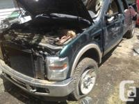 Parting out: 2005 Ford F350 Lariat extended cab short