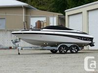 "2005 Crownline 202 BR with 8'6"" beam of light and hull"