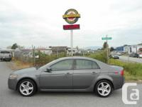 2005 ACURA TL STANDARD EQUIPPED WITH LEATHER,SUNROOF,