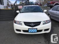 Make Acura Model TSX Year 2005 Colour White kms 176000
