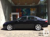 Make Acura Model TSX Year 2005 Colour Black kms 122000