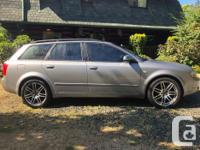 Make Audi Model A4 Year 2005 Colour Silver kms 220000