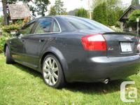 Make Audi Model A4 Year 2005 Colour Dolphin Grey kms