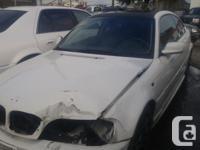 Make BMW Year 2005 Colour White kms 157000 Trans
