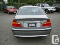 Make BMW Model 325i Year 2005 Colour Grey kms 111000