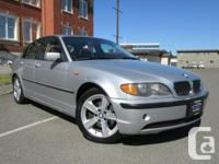 Make BMW Model 325i Year 2005 Colour Silver kms 192000