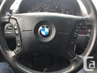 Make BMW Model 325i Year 2005 Colour Black kms 155000