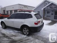 Make BMW Model X3 Year 2005 Colour WHITE kms 183000