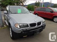 Make BMW Model X3 Year 2005 Colour black kms 169000