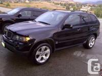 Coldstream, BC (Okanagan) 2005 BMW X5 4.4I $20,500 obo