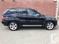 Make BMW Model X5 Year 2005 Colour Black kms 240969
