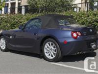 Make BMW Model Z4 Year 2005 Colour Blue kms 147680
