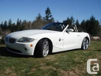 Make BMW Model Z4 Year 2005 Colour Alpine White kms