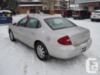Make Buick Model Allure Year 2005 Colour Silver kms