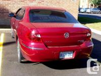 Make Buick Model Allure Year 2005 Colour Burgundy kms