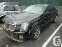 2005 Cadillac CTS-V for parts, black on black, 131k