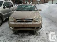 Hello,   SOLD SOLD!   I have Chevy Optra Ls. Automatic