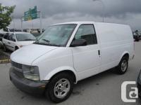 2005 Chevrolet Astro Cargo Van$4,600  Engine:  6