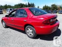 Make Chevrolet Model Cavalier Year 2005 Colour Red kms