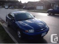 Up for sale is a 2005 Chevy Cavalier. Car is a 2dr 5