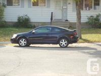 2005 Chevrolet Cobalt Coupe. 119,000 km. recently