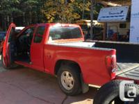 Make Chevrolet Model Colorado Year 2005 Colour Red kms