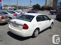 Make Chevrolet Model Malibu Year 2005 Colour White kms