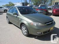 Make Chevrolet Model Optra 5 Year 2005 Colour Green