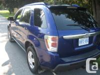 Make Chevrolet Model Equinox Year 2005 Colour BLUE kms