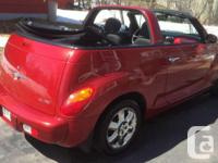 Make Chrysler Model PT Cruiser Colour Red Trans
